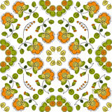 Summer seamless pattern Stock Photography