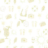 Summer seamless pattern Royalty Free Stock Photography