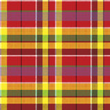 Summer seamless pattern madras check fabric texture Royalty Free Stock Image