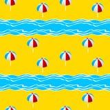 Summer seamless pattern Stock Photo