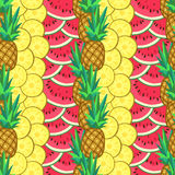 Summer seamless pattern Royalty Free Stock Photo