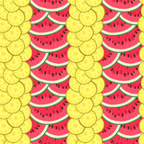 Summer seamless pattern Stock Images