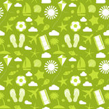 Summer seamless pattern. Royalty Free Stock Photo