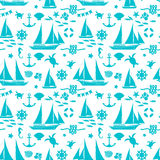 Summer seamless pattern Stock Photo