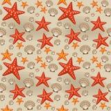 Summer seamless sea patterns. Vector Stock Photography