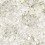 Summer seamless wallpaper. Universal template for greeting card, web page, backgroun Stock Photo