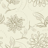Summer seamless wallpaper. Universal template for greeting card, web page, background Royalty Free Stock Photos