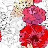 Summer seamless wallpaper Royalty Free Stock Photos