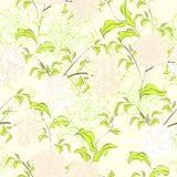 Summer seamless wallpaper Stock Images