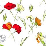 Summer seamless wallpaper Royalty Free Stock Photo