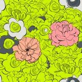 Summer seamless wallpaper Royalty Free Stock Image