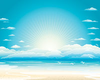 Summer Seascape Stock Photography