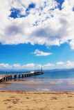 Summer seascape, Kavos, Corfu Stock Photography