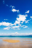 Summer seascape, Kavos, Corfu Royalty Free Stock Photography