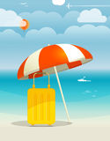 Summer seaside vacation Royalty Free Stock Photos