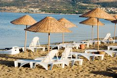 Summer season on the beach Stock Photo