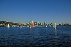 Summer in Seattle Royalty Free Stock Photography
