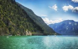 Summer See Achensee, Österreich Lizenzfreies Stockfoto