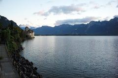 Summer See-Uferlandschaft Lizenzfreie Stockfotografie