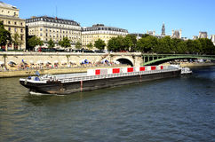 Summer on the Seine Royalty Free Stock Photo