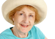 Summer Senior Beauty Stock Photography