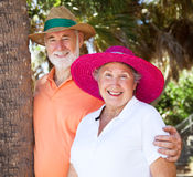 Summer Senior Couple Royalty Free Stock Image