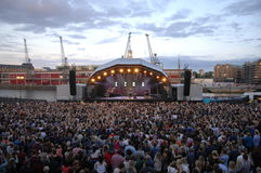Summer Series Bristol George Ezra Stock Images