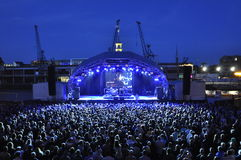 Summer Series Bristol Seasick Steve Royalty Free Stock Photos
