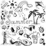 Summer set. Royalty Free Stock Photo