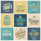 Summer set Royalty Free Stock Photography