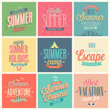 Summer set Stock Photography