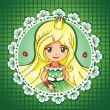 Summer shine princess portrait � series 3/  4 Royalty Free Stock Image