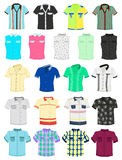 Summer shirts Stock Photos