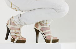 Summer shoes Royalty Free Stock Photos