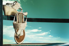 Summer shoes Stock Photography