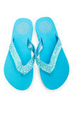 Summer shoes isolated Stock Image