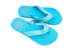Summer shoes isolated Royalty Free Stock Photo