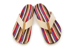 Summer shoes isolated Stock Photo
