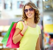 Summer shopper Royalty Free Stock Photography