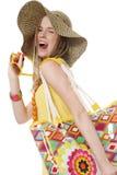 Summer shopping Stock Image