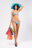 Summer shopping Royalty Free Stock Images