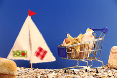 Summer shopping concept Royalty Free Stock Photography