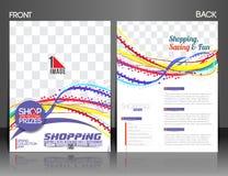 Summer Shopping Flyer Stock Photos