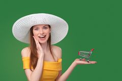 Summer shopping sale concept Royalty Free Stock Images