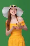 Summer shopping sale concept. Stock Photos
