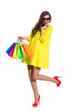 Summer Shopping Sale Stock Images