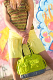 Summer shopping time Stock Images