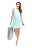 Summer shopping. Stock Image