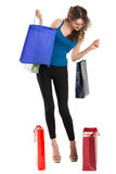 Summer shopping Stock Images