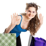 Summer shopping Royalty Free Stock Photography